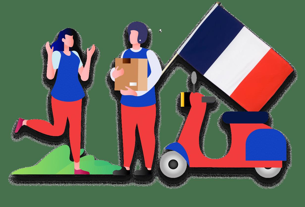 Service de coursier français